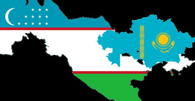Пересечение границ Узбекистана с Казахстаном в 2020 году
